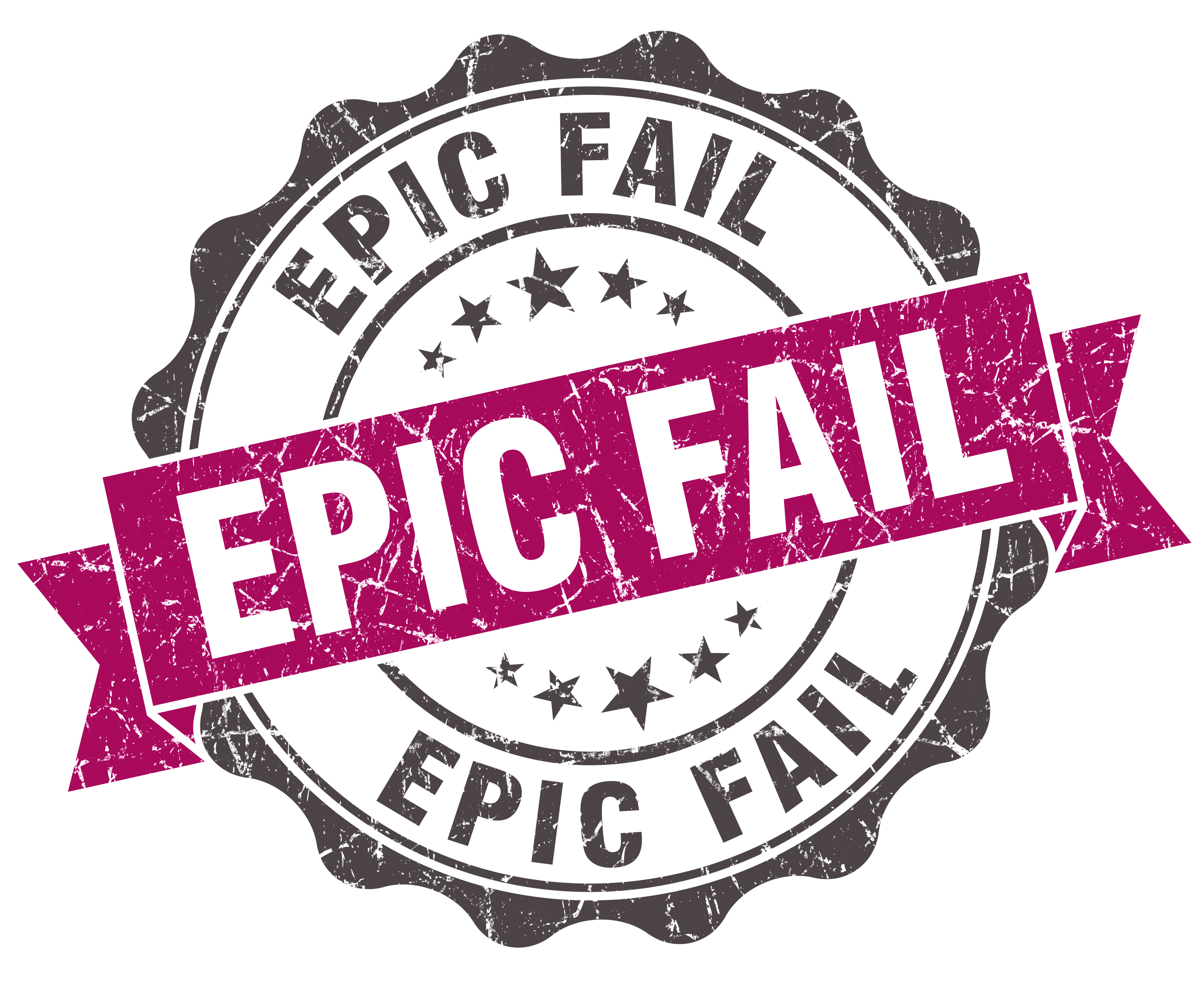 Epic Training FAIL