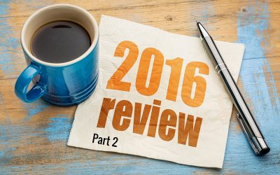 A Year in Review – More Lessons Learned in 2016