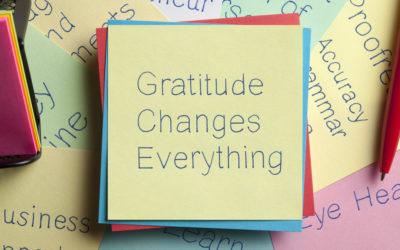 The Ripple Effect of Gratitude