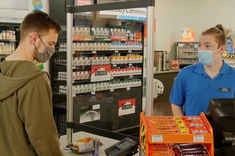 Service Training for COVID 19 in Convenience Stores