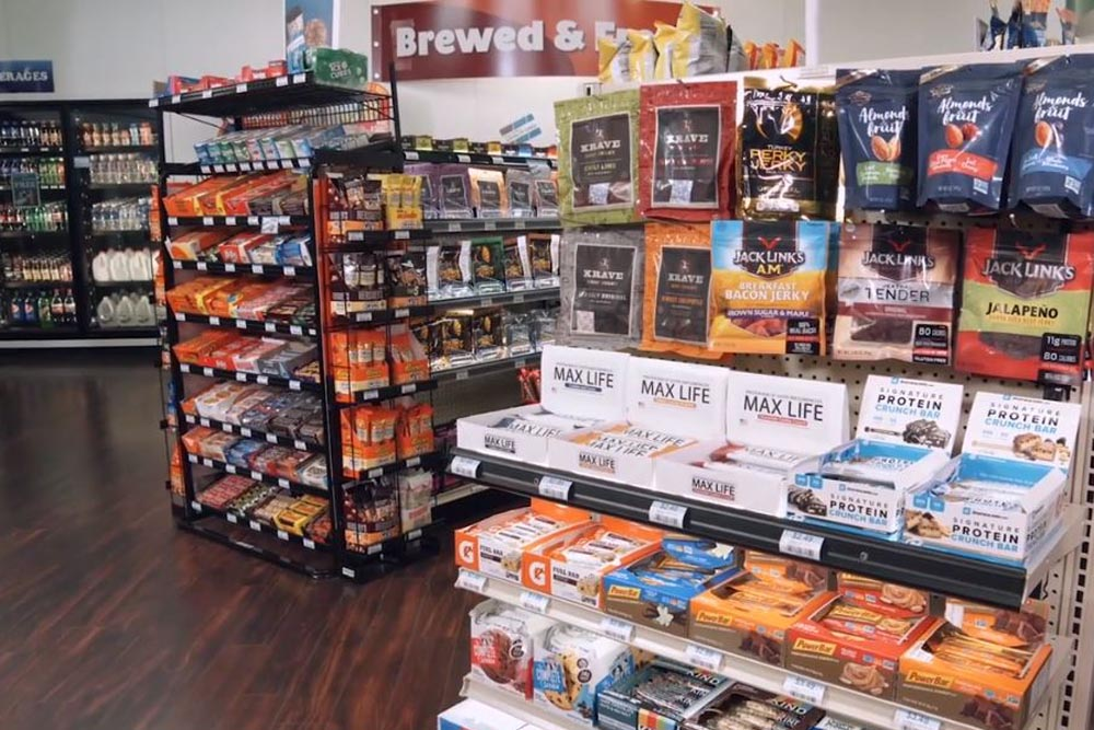 Merchandising Displays for Convenience Stores